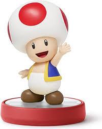 amazon toad amiibo super mario bros series wii video games