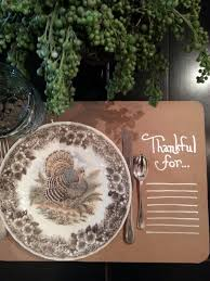 how to make simple thanksgiving placemats wendys hat