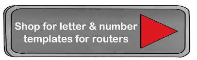 templates for routers how to carve letters and numbers with a router