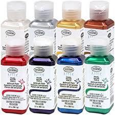 amazon com testors aztek premium pearl acrylic airbrush paint 8