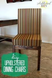 diy dining room chairs upholstered dining chairs diy painted Build Dining Room Chairs