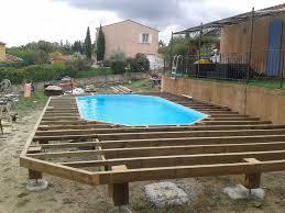 piscine hors sol en bois pas cher 2 terrasse bois piscine hors