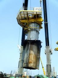 Pedestal Crane Ship Conversion Project Crane Installation U0027eastwind 301