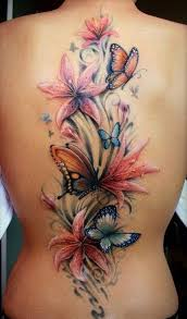 best 25 flower back tattoos ideas on pinterest heart with