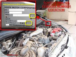 finding the vin u0026 manufacturing date year on indian cars page 65