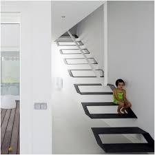 Floating Stairs Design Nice Metal Staircase On Very Original Stairway Design Metallic