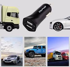 Car Charger With Usb Ports Awei C300 Car Charger Dual Usb Ports White