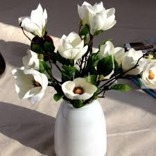 popular silk flowers magnolia buy cheap silk flowers magnolia lots