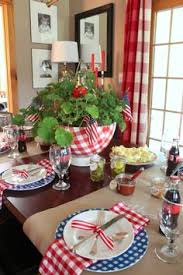 4th of july decor in the living room house holidays and summer