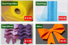 paper ribbons ribbons gift wrapping www phoebsfloral