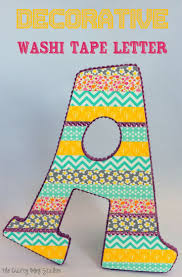 38 best letras con washi tape images on pinterest lyrics washi