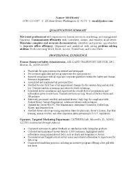 Sample Resume For Employment by Resume Examples For Safety Professionals Human Resources Resume