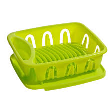 dish drainer plastic removable tray kitchen accessories various