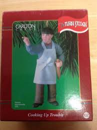 three stooges ornament carlton cards moe cooking up trouble 2001