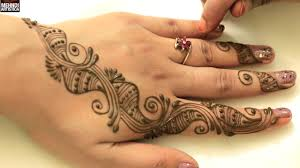 simple easy henna bel mehndi designs for beginners learn to draw
