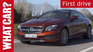 car mercedes mercedes benz e class coupe review 2017 what car