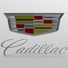 logo chevrolet 3d 3d cadillac logo 2 cgtrader