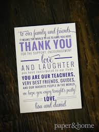 wedding day thank you cards daniel paper and home