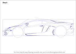 how to draw lamborghini centenario side view drawingtutorials101