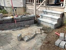 How To Lay Paver Patio How To Lay A Concrete Paver Patio Or Walkway A Lifetime Of Expert