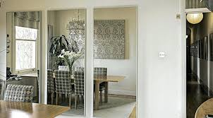 dining room mirror in dining room mirrored dining room table