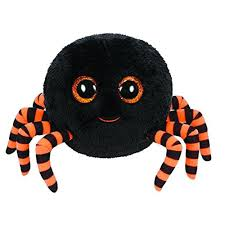 halloween spiders amazon com ty beanie boos crawly halloween spider set of 2