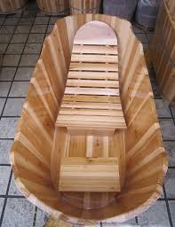 wooden bathtub wood soaking tub with chair wooden tub for soaking wooden bathtub