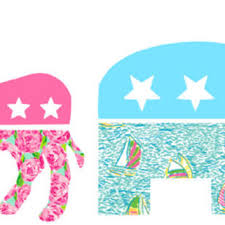 preppy decals preppy gop decals available in lilly from ginsmonogramshoppe on