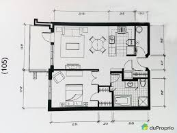 Large Master Bathroom Floor Plans 8x9 Bathroom Floor Plan Condo For Sale In Montreal 105 5211 Rue