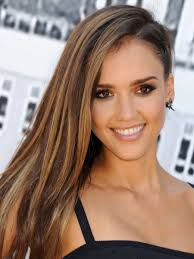 272 best half up half down with braids images on pinterest love side swept hair try a punky braid like jessica alba