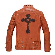 real leather motorcycle jackets fitted leather jacket men promotion shop for promotional fitted