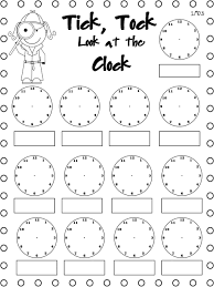 telling time clock worksheets to minutes printable math free rd