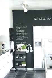 tableau m駑o pour cuisine ardoise de cuisine ardoise cuisine deco mur dardoise dans une