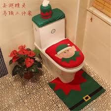 Christmas Bathroom Decor Sets by 2017 Christmas Toilet Seat Cushion Snowman Chamber Pot Covers