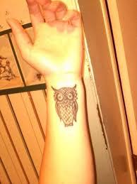 tribal owl tattoo 36 attractive owl wrist tattoos design