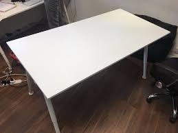 Ikea Galant Standing Desk by Ikea Galant Desk White Top With White Legs Cost 80 New Now Only