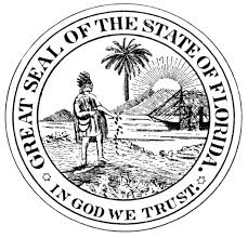 Florida State Flag Image 29 Florida State Symbols Coloring Pages Projects On