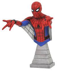 halloween busts jul172798 marvel spider man homecoming web glider spider man