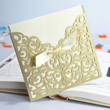 free wedding invitation sles laser cut wedding invitation card laser cut wedding invitation