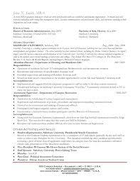 brilliant ideas of mba graduate resume sample for your format