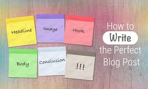 how to write the paper how to write the perfect blog post