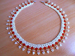 bead necklace images images Free pattern for amazing beaded necklace sicily beads magic jpg