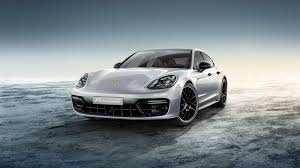porsche fashion grey porsche exclusive enhances the new panamera inside and out