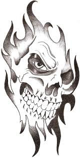 easy skull tattoo designs pictures to pin on pinterest tattooskid