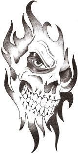 easy skull designs for beginners amazing