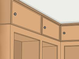 how to make cabinets go to ceiling 3 easy ways to extend cabinets to the ceiling wikihow