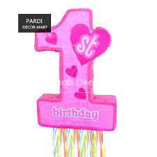baby s 1st birthday number 1 pinata baby s 1st birthday party props beating props
