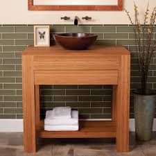 Bamboo Bathroom Furniture Bathroom Accessories Popular Bamboo Bathroom Vanity With Bowl