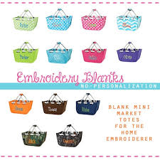 blank easter baskets 13 colors embroidery blank modern easter basket by stitchery33