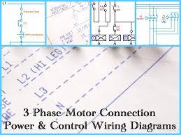 electric motor wiring diagrams carlplant unusual three phase